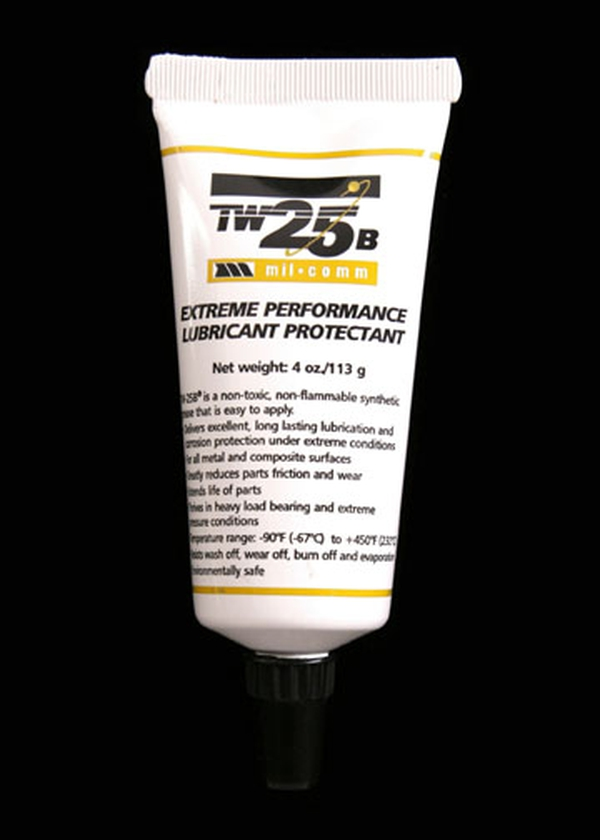 Lube/ Mil-Comm Extreme Performance Synthetic Grease, Lubricant Protectant TW25B, 4 oz tube
