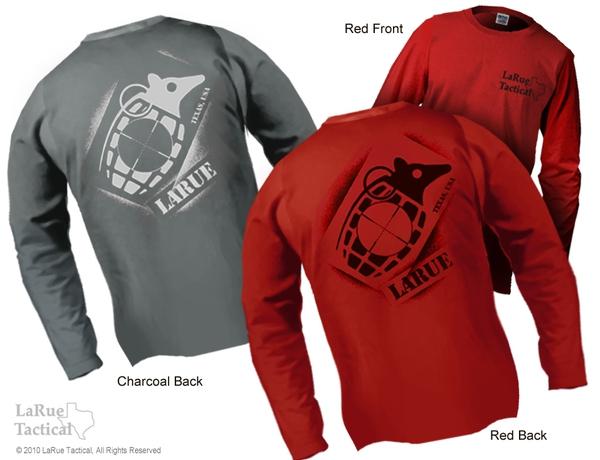 "LaRue Tactical LONG SLEEVE ""Dillo Grenade"" T-Shirt"