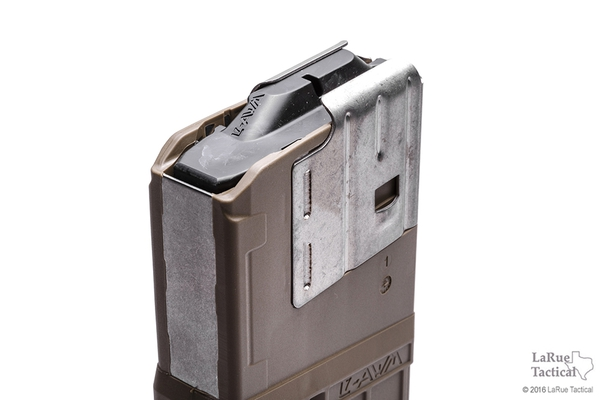 Lancer L7 Advanced Warfighter Magazine, 20 Round, Flat Dark Earth for 7.62mmX51