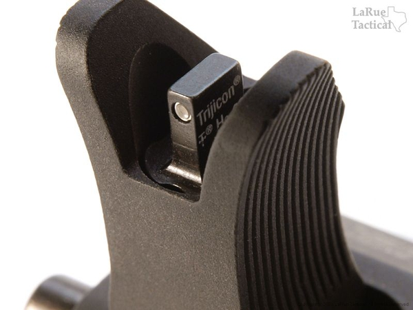 Troy Front and Rear Folding Battle Sight with Tritium Inserts Combo