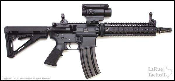 Aimpoint Comp M4 w/ LaRue Tactical QD Mount