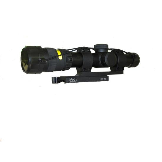 Trijicon AccuPoint 1-4x24 30mm Riflescope TR24R W/ LaRue Tactical LT 104-30