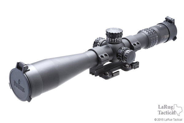 Burris XTR II 5-25x50 Riflescope with SCR Mil/MOA Reticle (34mm) with LaRue QD Mount