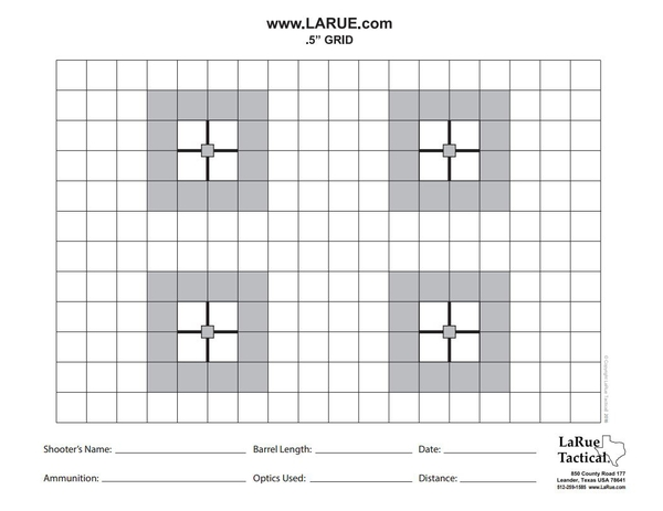 LaRue 100-Count Target Pads