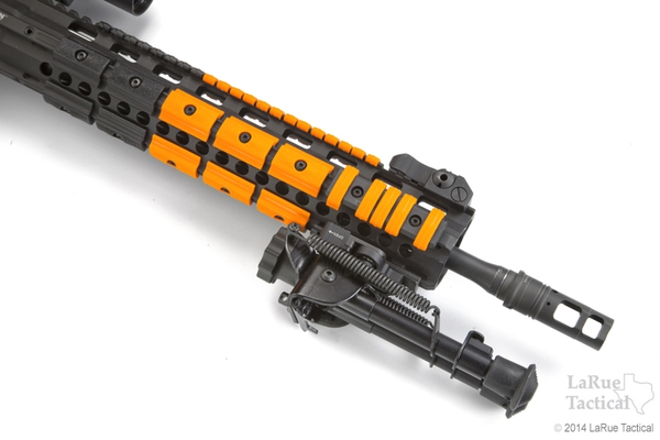 LaRue Grip Adapter Panels Blaze Orange