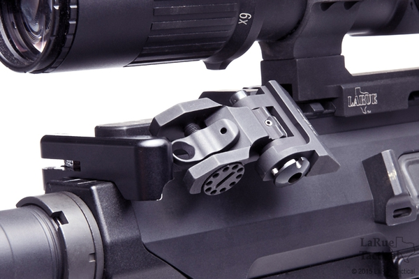 Troy Offset Sight Set Front And Round Rear Larue Tactical