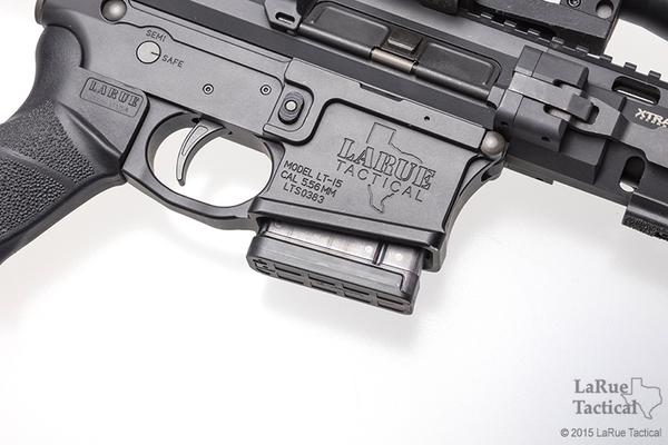 Lancer - L5AWM 5.56 10-Round Magazine Translucent Smoke