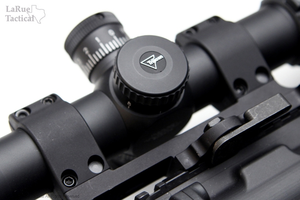 5-20x50 Mil-Dot, Green- Trijicon TR23-2G Accupoint and LT104-30 QD Mount