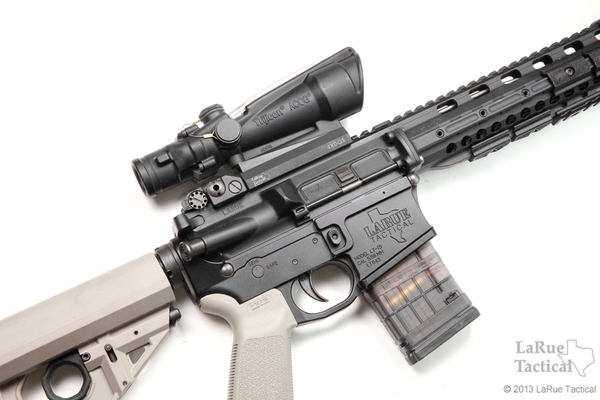 Trijicon ACOG TA11H 3.5x35 Scope, Red Horseshoe .223 Ballistic Reticle w/ LT100 QD Mount