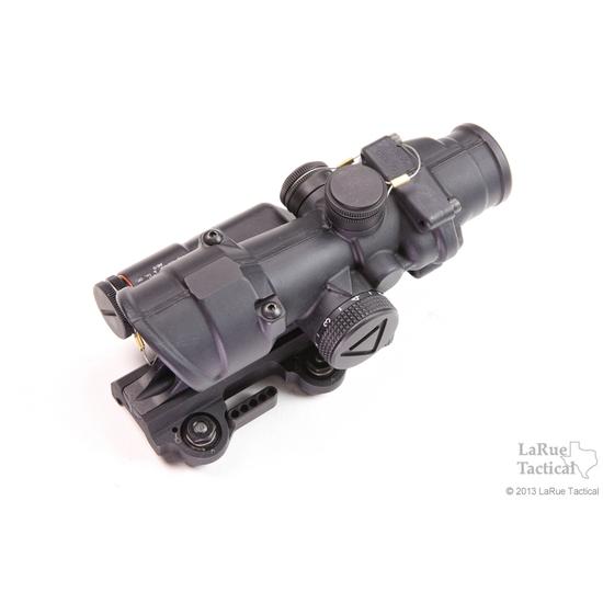 Trijicon 4x32 TA02 ACOG: LED Scope, Battery Illuminated Red Crosshair .223 Reticle w/ LT100 QD Mount