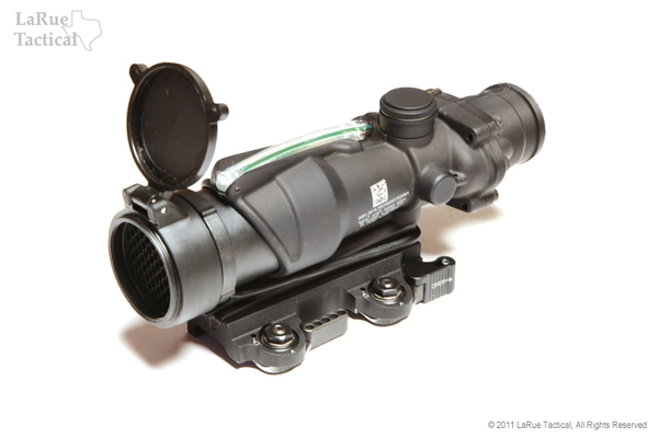 Trijicon ACOG TA31RCO Army Optic 4 X 32 with Green Illum w/ LaRue LT100 Mount