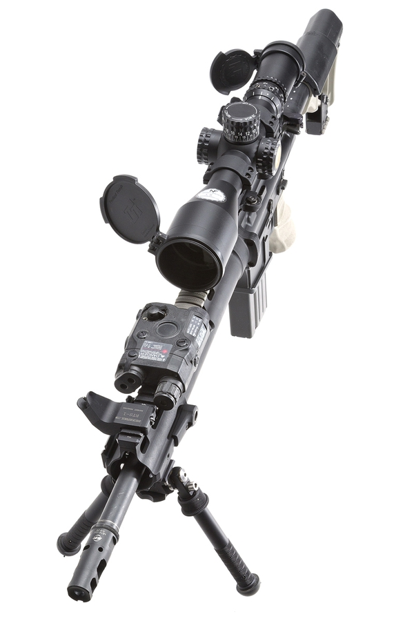 NightForce 5-25×56 ATACR and QD Mount