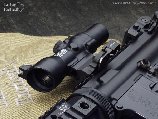 Trijicon TA33 3x30 Trijicon ACOG with LaRue Tactical LT105 Compact ACOG QD Mount
