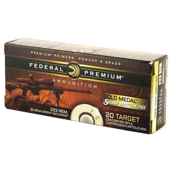 Federal Premium GMM .223 Rem  69 Gr. SMK