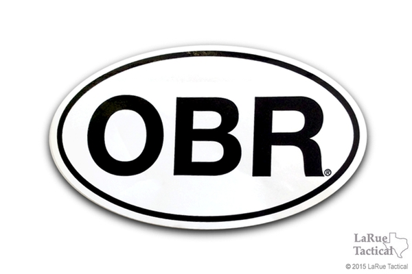 LaRue OBR Oval Decals/Stickers
