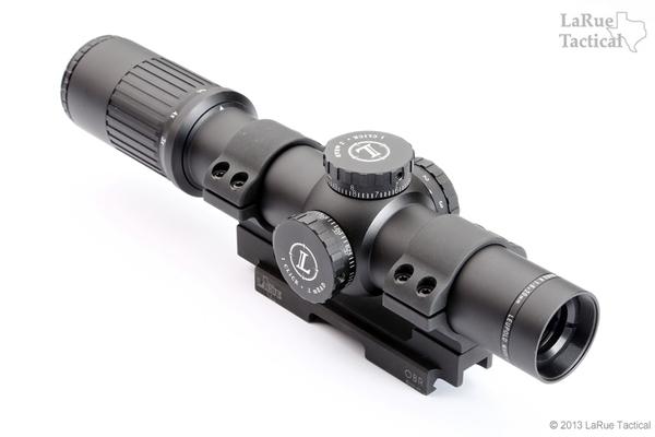 Leupold Mark 6 1-6x20mm M6C1 with LaRue QD Mount