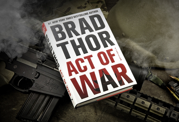 Book/ Act of War: A Thriller by Brad Thor