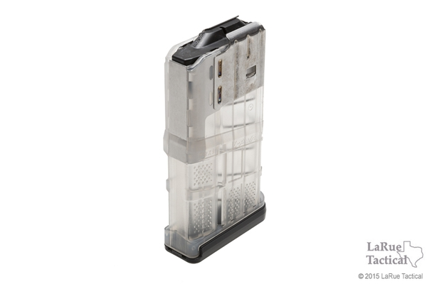 Lancer L7 Advanced Warfighter Magazine, 20 Round, Clear for 7.62mmX51 (.308win)