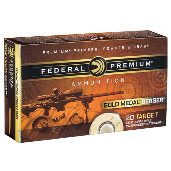 Federal Premium GMM 6.5 Grendel 130 Gr. Berger Hybrid BTHP
