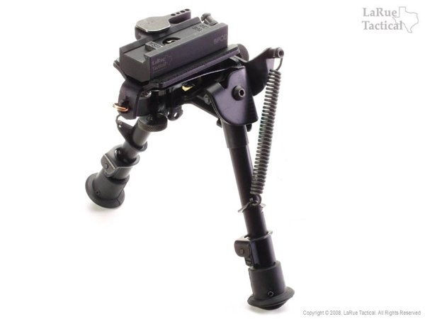 Harris Bipod BRM-S and LaRue Tactical LT130 QD Mount