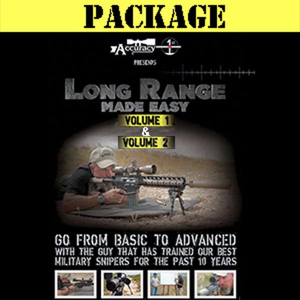 Accuracy 1st - Long Range Made Easy Volume 1 & 2 Combo - DVD