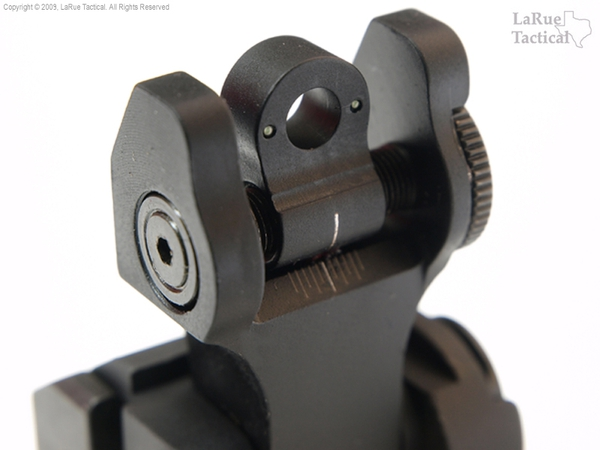 Troy Rear Folding Battle Sight with Tritium Inserts