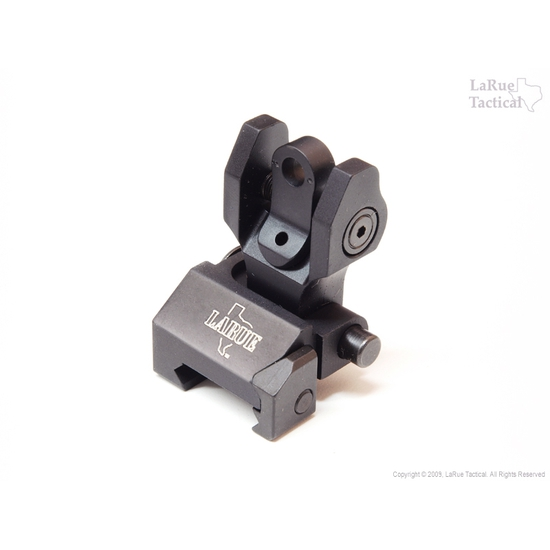 Troy Rear Folding Battle Sight with Tritium Inserts
