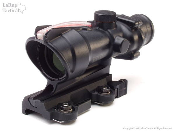 trijicon 4x32 ta31f acog scope and qd mount larue tactical