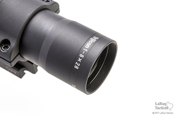 Trijicon AccuPower 1-8x28 Riflescope with LaRue QD Mount