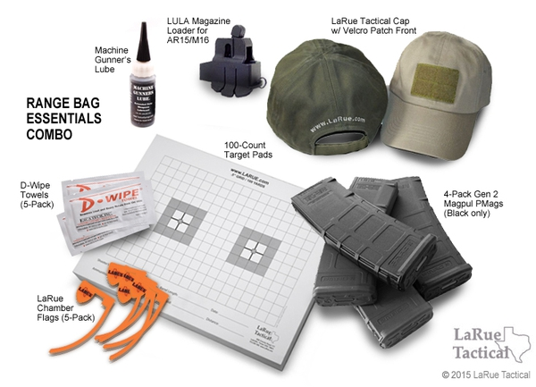 LaRue Tactical Range Bag Essentials Combo