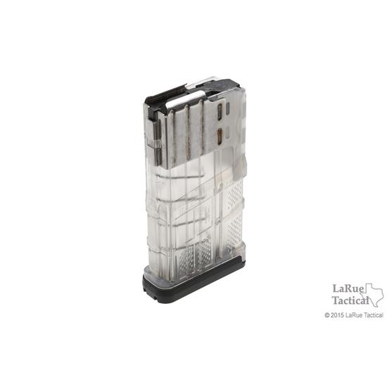 Lancer L7 Advanced Warfighter Magazine, 20 Round, Clear for 7.62mmX51 (.308win)
