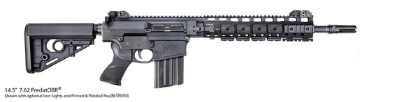 LaRue Tactical 14.5 Inch PredatOBR 7.62