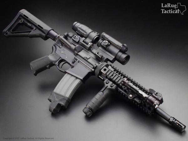 LaRue Tactical 5.56 Stealth Sniper System LT011