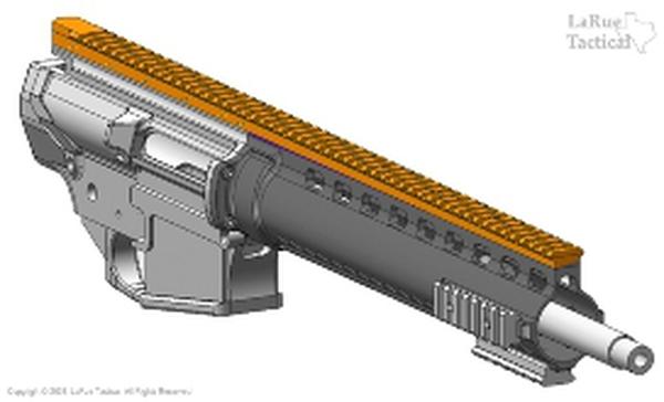 16 Inch LaRue Tactical OBR (Optimized Battle Rifle) Complete 7.62 Rifle