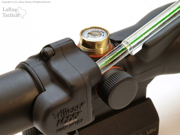 Trijicon ACOG 3x30 TA33 with Green Horseshoe Ballistic Reticle and LT105 QD Mount