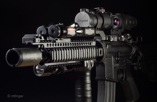 "LaRue Tactical 11"" Handguard SBRS (GOOSENECK) LT15-11"