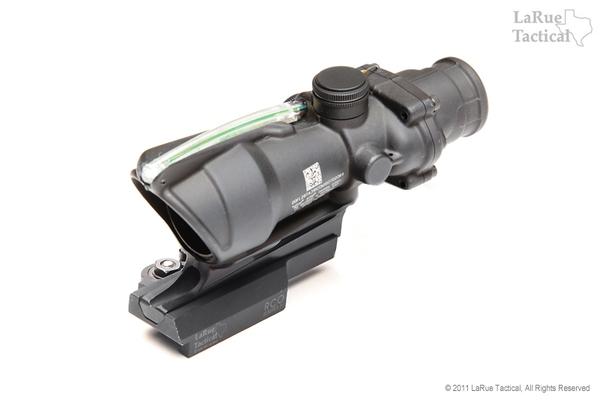 Trijicon ACOG TA31RCO Army Optic 4 X 32 with Green Illum w/ LaRue LT681 Mount