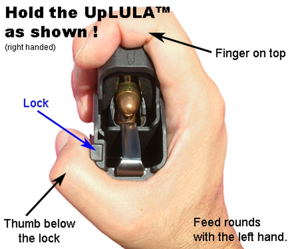 Lula Magazine Loader for 9mm-45ACP