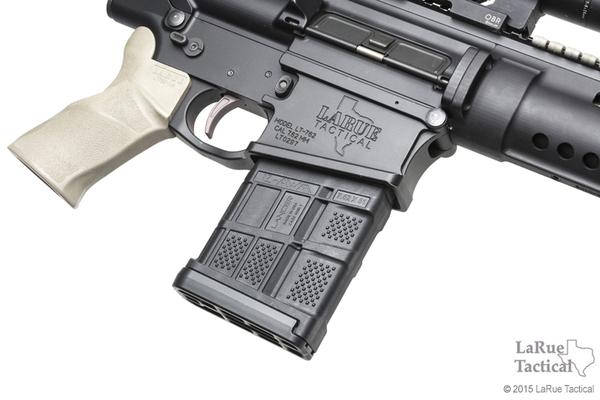 Lancer L7 Advanced Warfighter Magazine, 20 Round, Black for 7.62mmX51 (.308win)