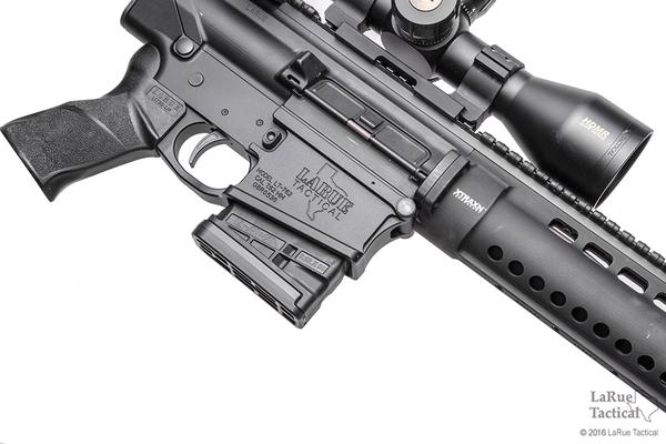 Lancer L7 Advanced Warfighter Magazine, 10 Round, Black for 7.62mmX51
