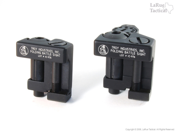 BOTH Front & Rear Troy Sights COMBO