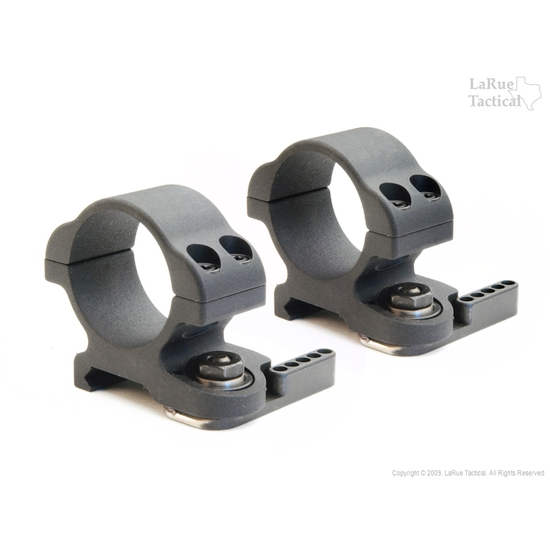 LaRue Tactical Ultra-Low Mount Rings QD, LT719