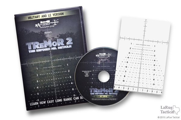 TReMoR 2 The Refined MIL Reticle - DVD