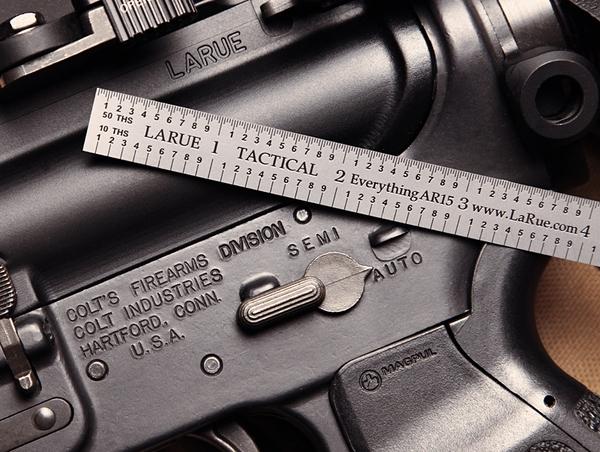 LaRue Tactical 6 Inch Tempered Steel La Ruler