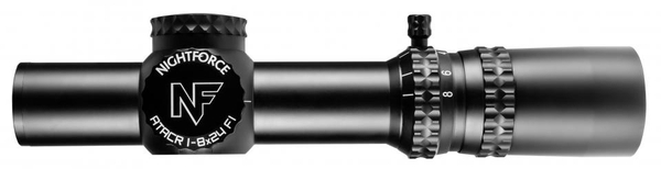 NightForce ATACR 1-8x24mm and LaRue Mount