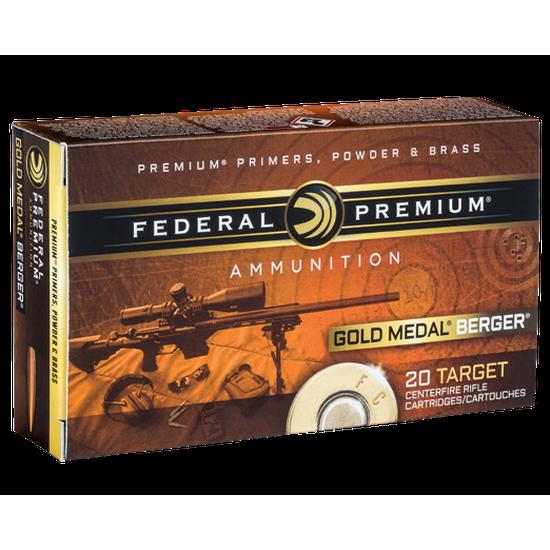 Federal Premium GMM 6.5 Creedmoor 130 Gr. Berger Hybrid BTHP