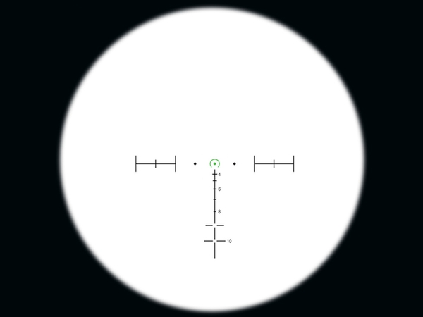 Trijicon ACOG 3.5 X 35 Scope TA-11 Dual Illum Green horseshoe / Dot .223 BDC and LT100 QD mount
