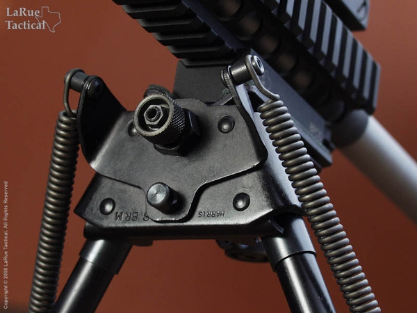 Harris Bipod BRM-S and LaRue Tactical LT130 QD Mount
