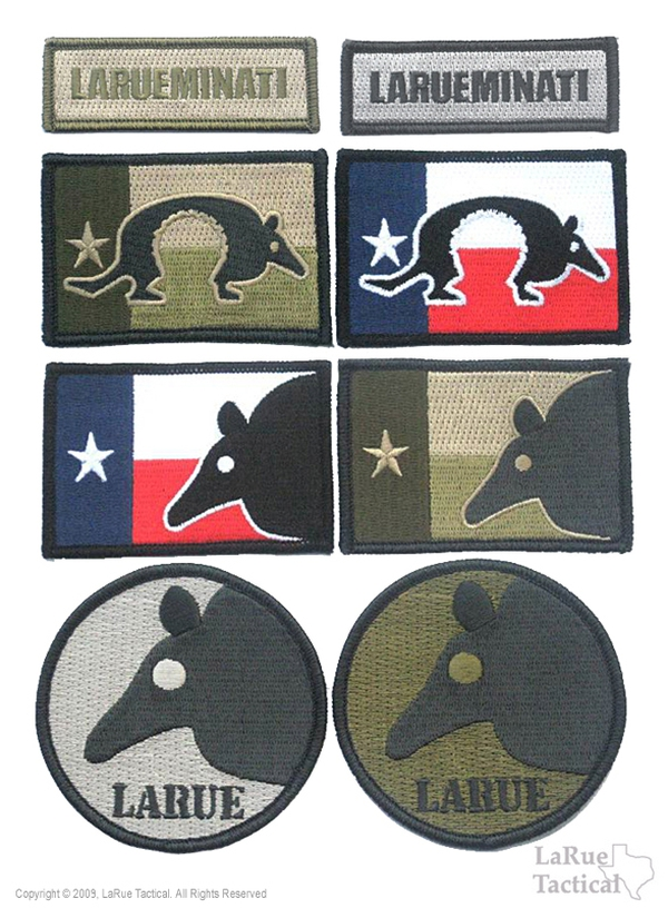 LaRue Tactical Morale Patches, Set of 8