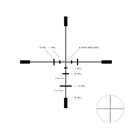 U.S. Optics SVS 1-6x24mm and LaRue Mount